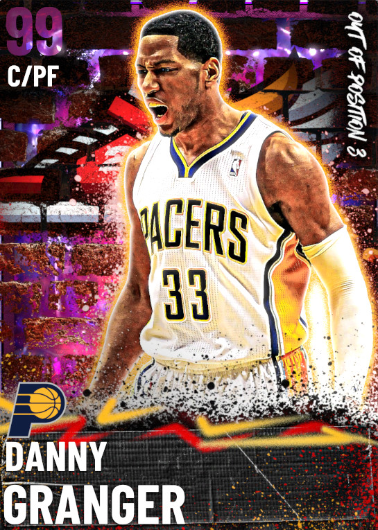 99 Danny Granger | Out of Position 3