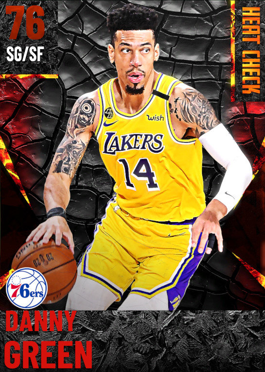 76 Danny Green | undefined