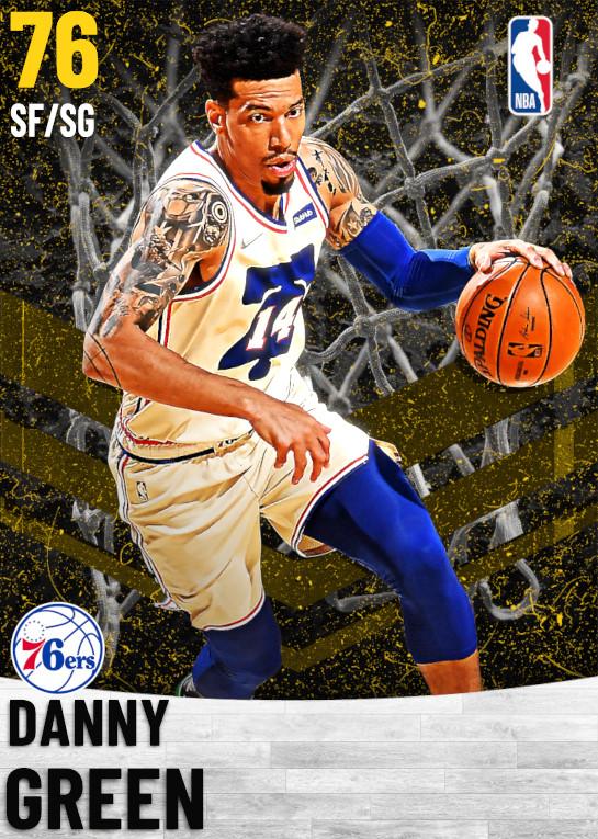 76 Danny Green   Philadelphia 76ers