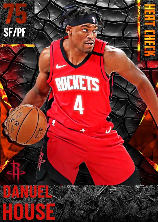 75 Danuel House | Houston Rockets
