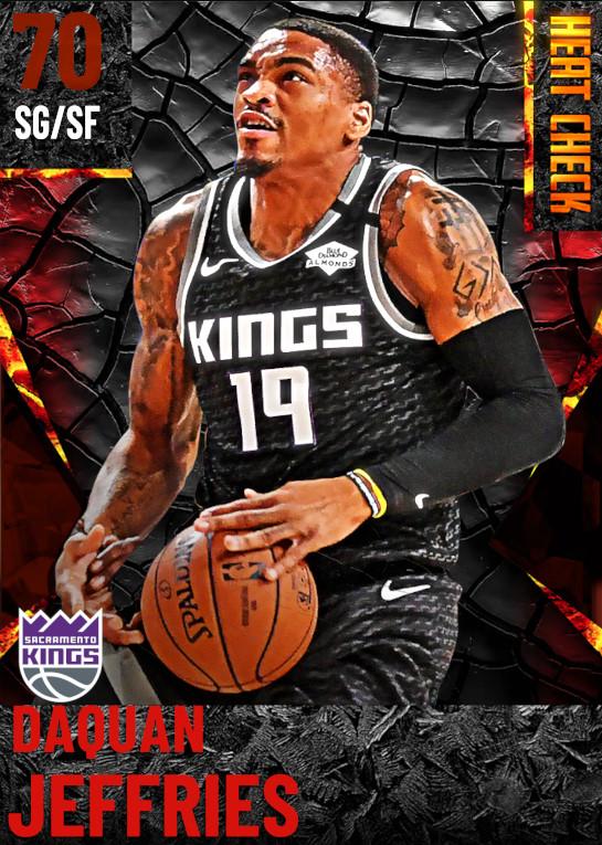 70 DaQuan Jeffries | Sacramento Kings