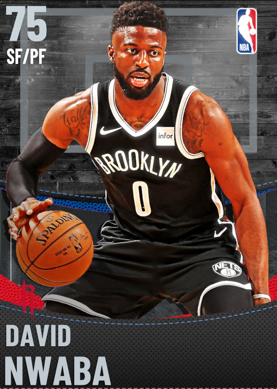 75 David Nwaba | Houston Rockets