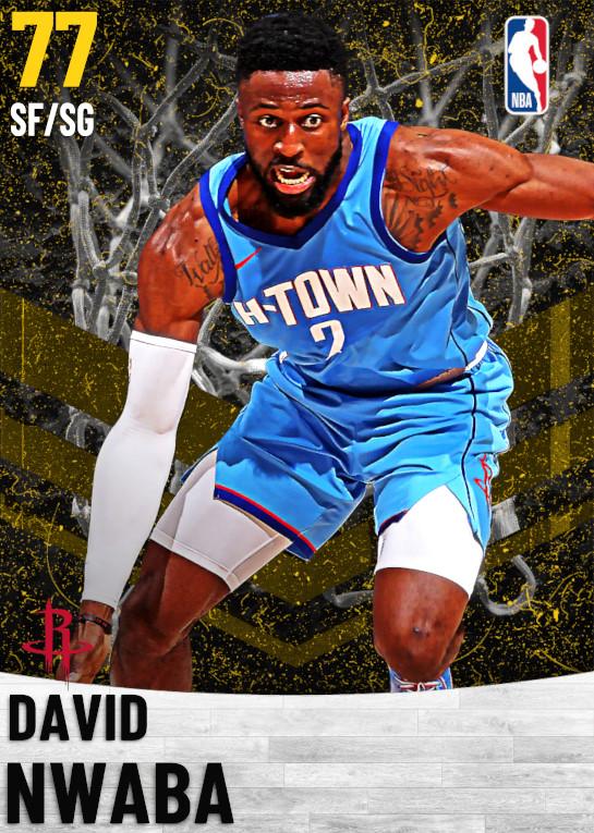 77 David Nwaba   Houston Rockets