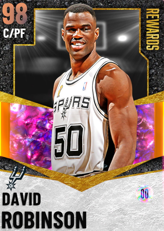 98 David Robinson | Season Ultimate Rewards