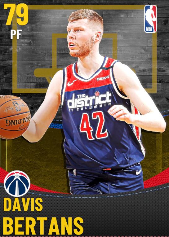 79 Davis Bertans | Washington Wizards