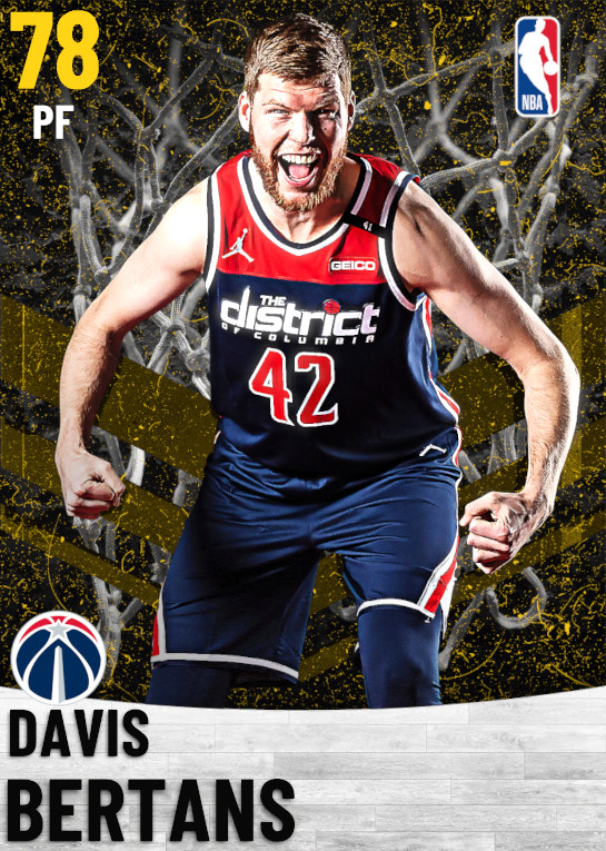 78 Davis Bertans   Washington Wizards