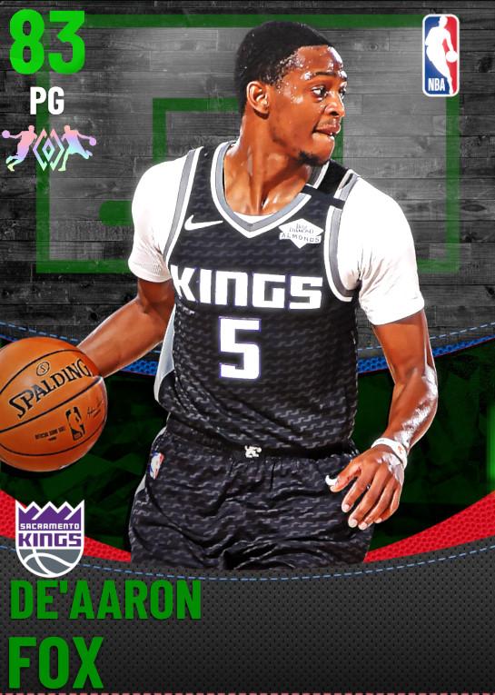 83 De'Aaron Fox | Sacramento Kings