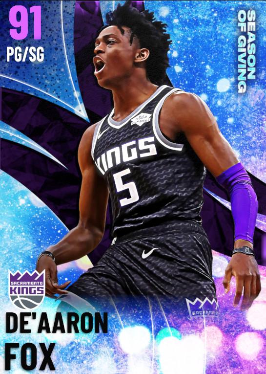 91 De'Aaron Fox | undefined
