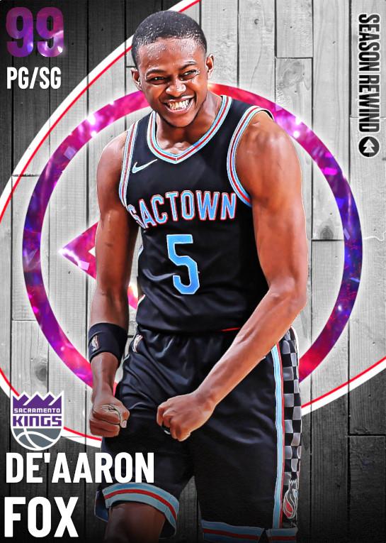 99 De'Aaron Fox   undefined