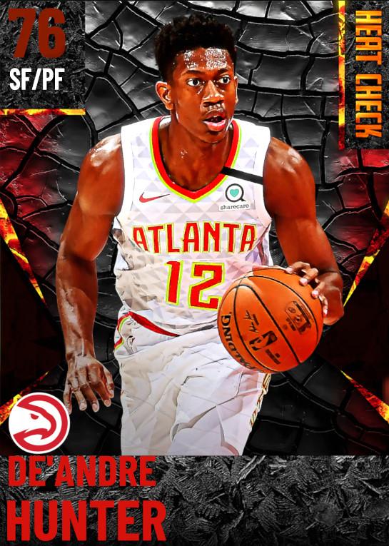 76 De'Andre Hunter | Atlanta Hawks