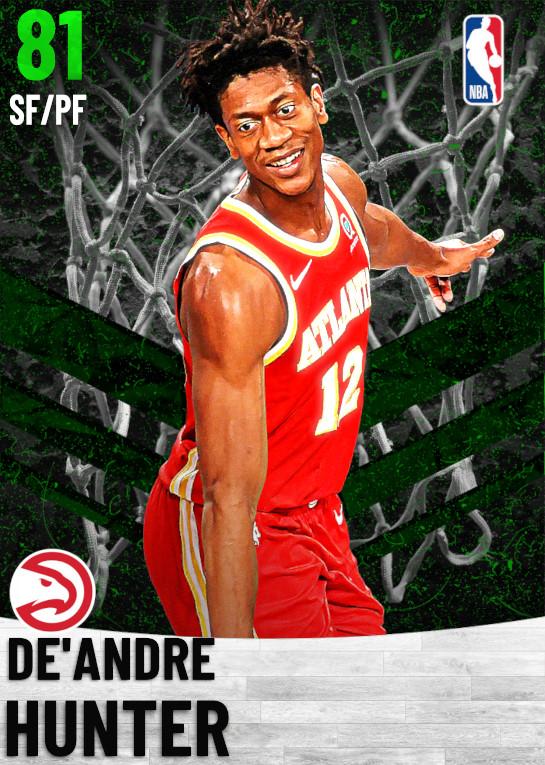 81 De'Andre Hunter   Atlanta Hawks