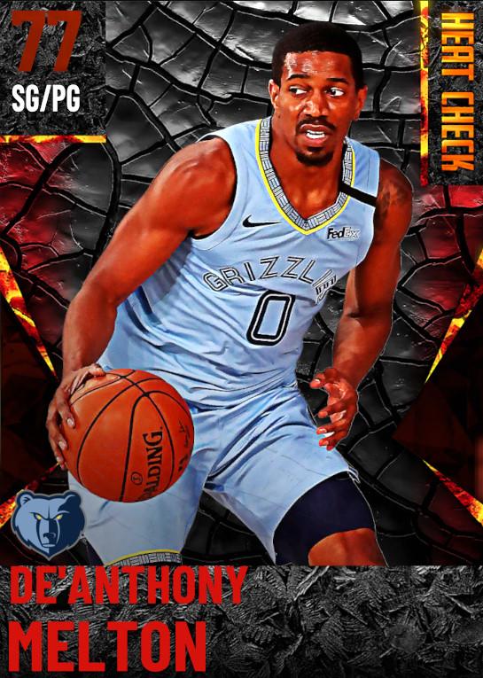 77 De'Anthony Melton | Memphis Grizzlies