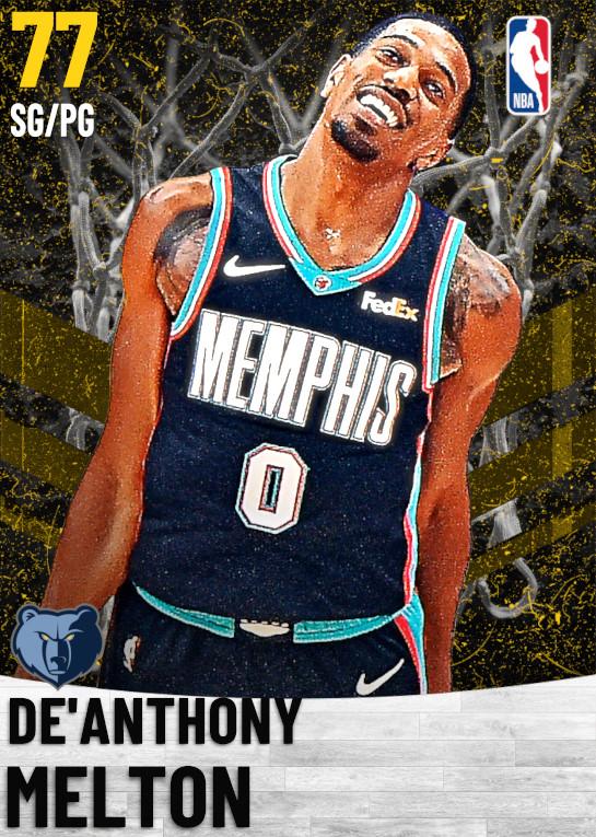 77 De'Anthony Melton   Memphis Grizzlies