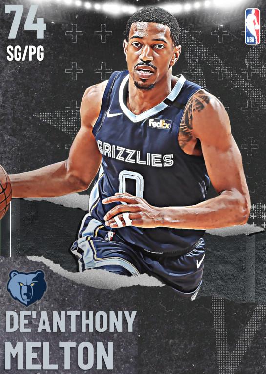 74 De'Anthony Melton   undefined