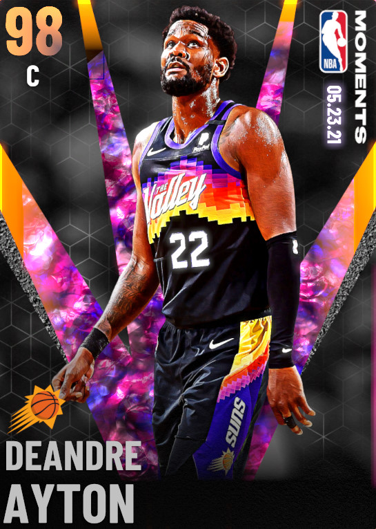98 Deandre Ayton   Phoenix Suns