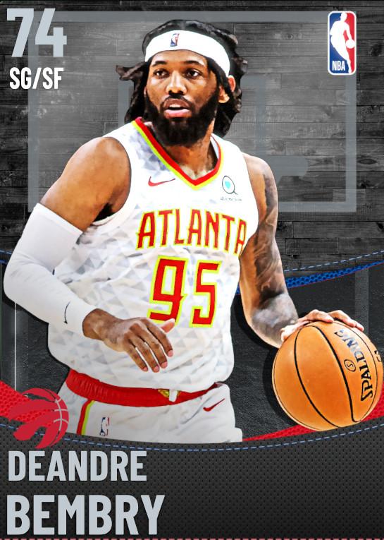 74 DeAndre Bembry | Toronto Raptors