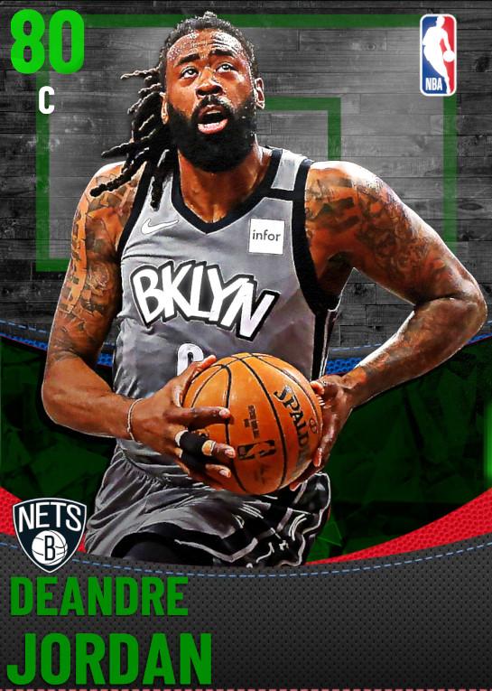 80 DeAndre Jordan | Brooklyn Nets
