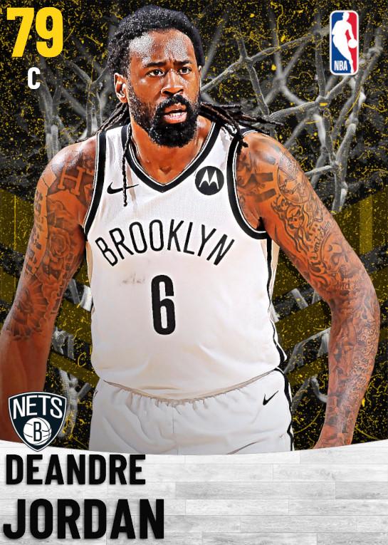 79 DeAndre Jordan   Brooklyn Nets