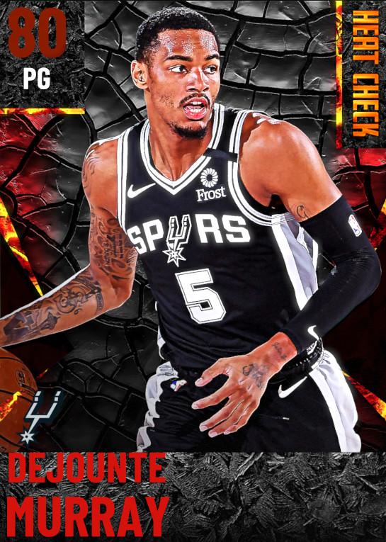 80 Dejounte Murray | San Antonio Spurs