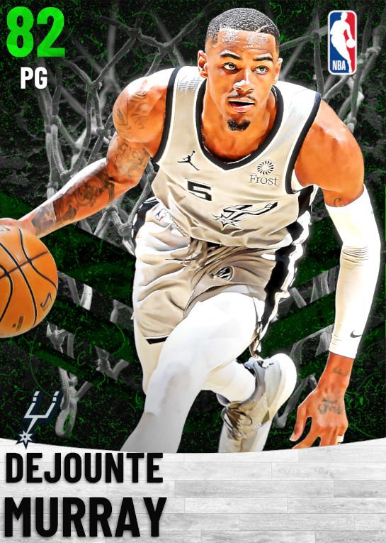 82 Dejounte Murray   San Antonio Spurs