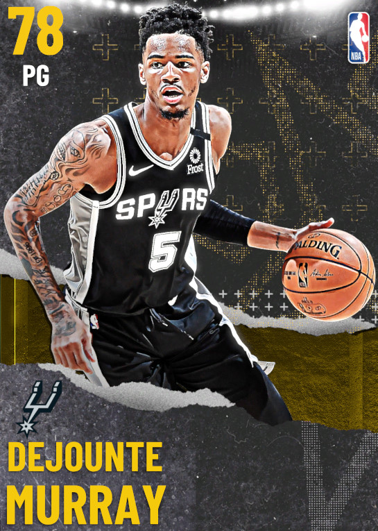 78 Dejounte Murray | undefined