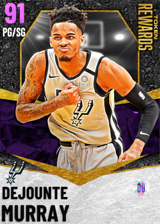 91 Dejounte Murray | Token Rewards