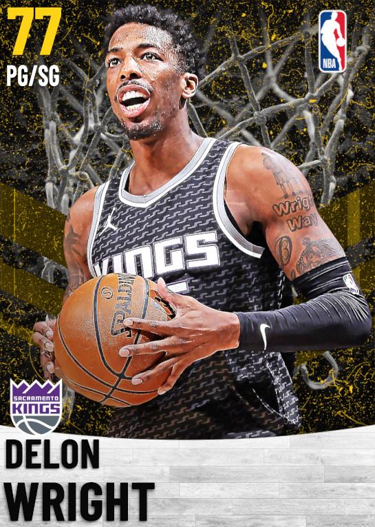 77 Delon Wright   Sacramento Kings
