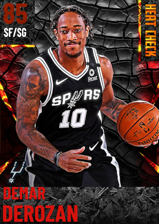 85 DeMar DeRozan | San Antonio Spurs