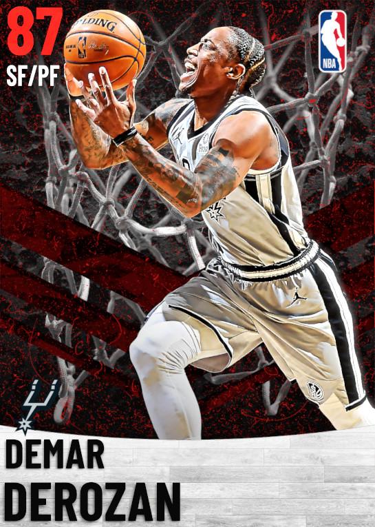 87 DeMar DeRozan   San Antonio Spurs