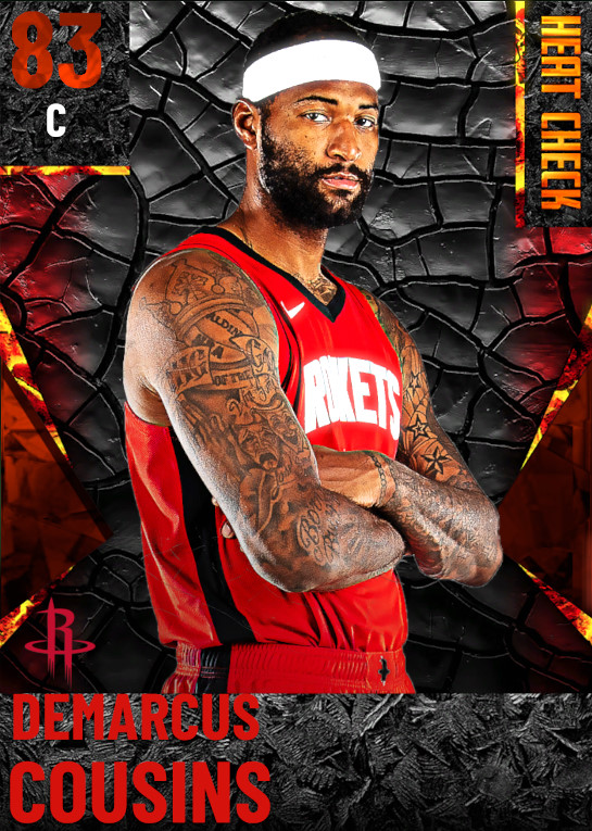 83 DeMarcus Cousins | Houston Rockets
