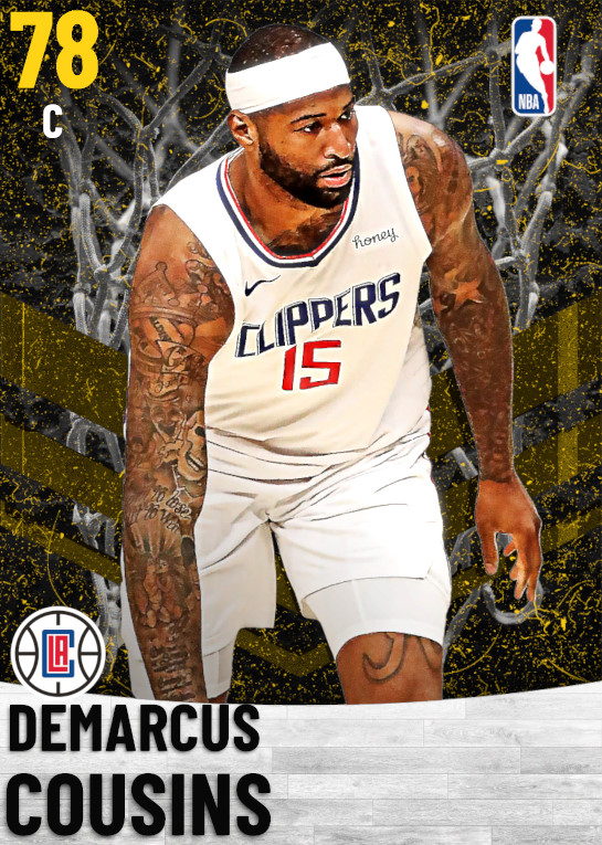 78 DeMarcus Cousins   Los Angeles Clippers