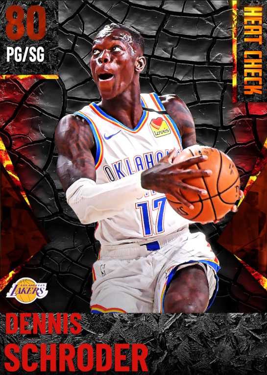 80 Dennis Schroder | Los Angeles Lakers