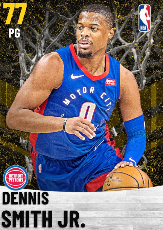 77 Dennis Smith Jr.   Detroit Pistons