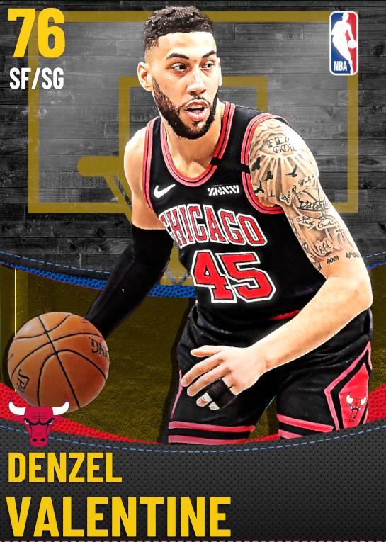 76 Denzel Valentine | Chicago Bulls