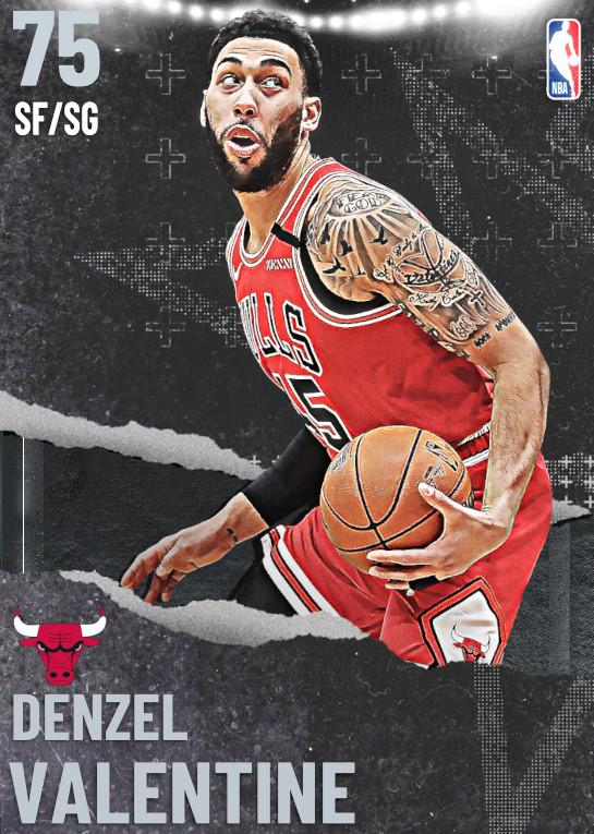 75 Denzel Valentine   undefined