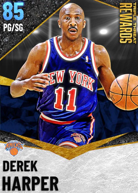 85 Derek Harper | undefined