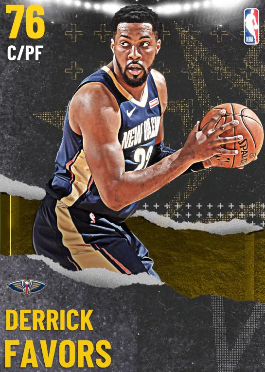 76 Derrick Favors   undefined