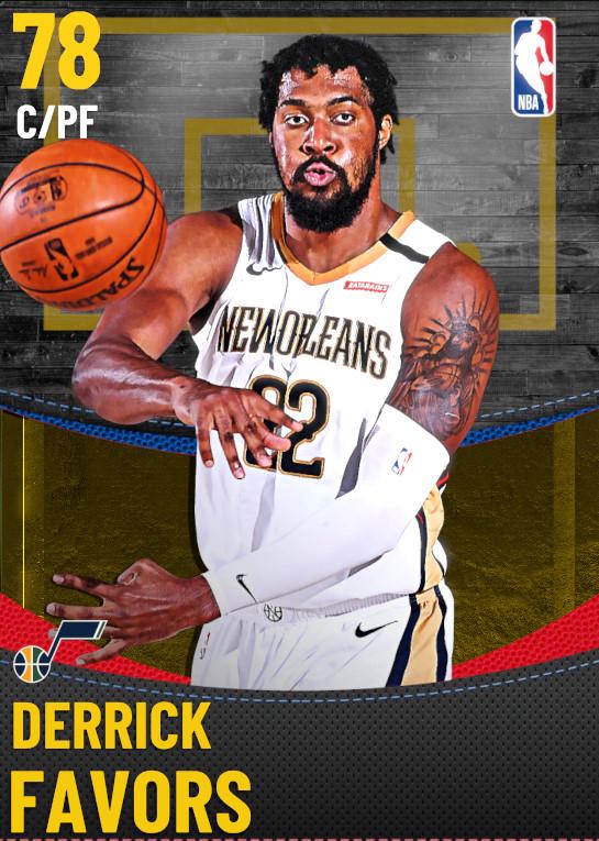 78 Derrick Favors | Utah Jazz