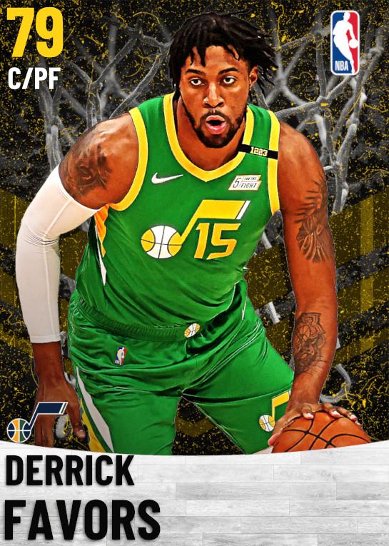 79 Derrick Favors   Utah Jazz