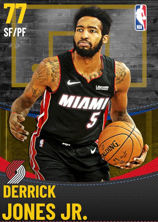 77 Derrick Jones Jr. | Portland Trail Blazers