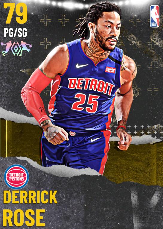 79 Derrick Rose | undefined