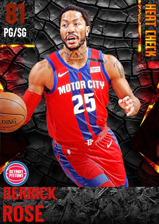 81 Derrick Rose | Detroit Pistons