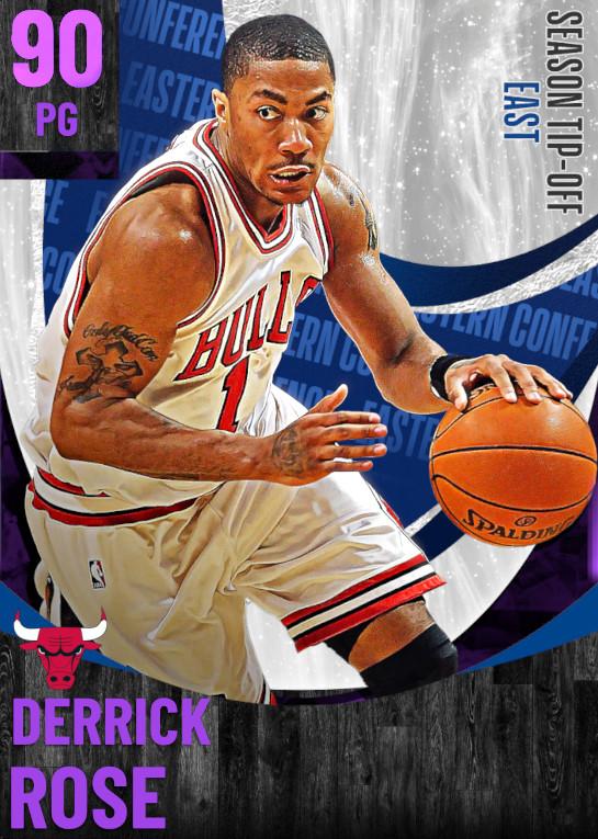 90 Derrick Rose | undefined