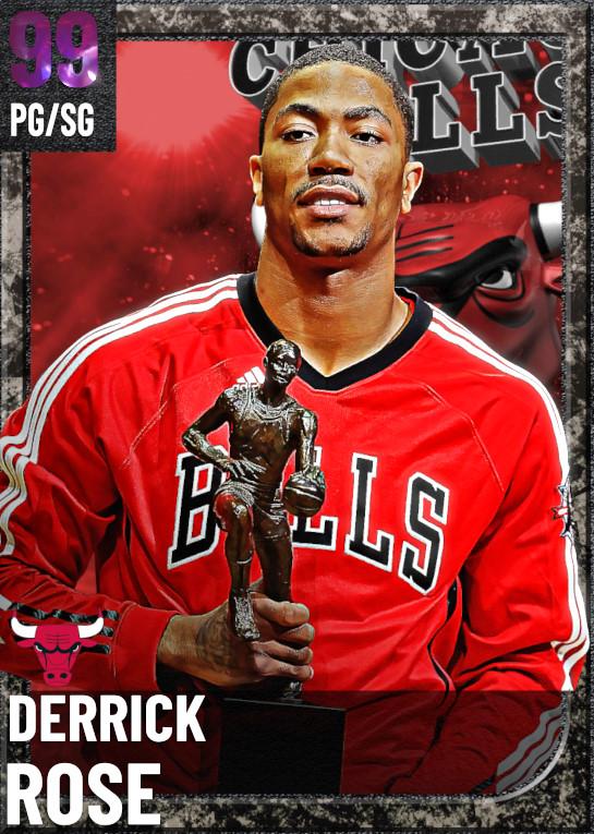 99 Derrick Rose | undefined