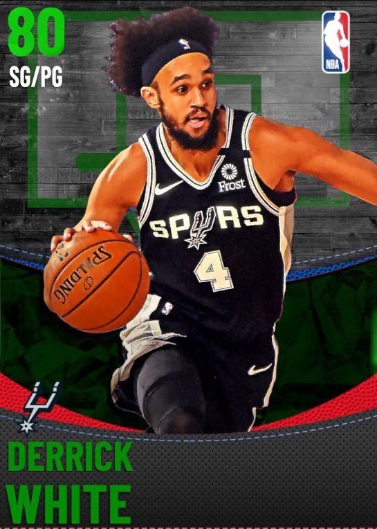 80 Derrick White | San Antonio Spurs