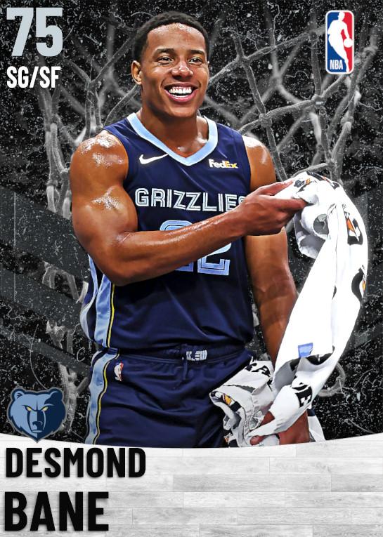 75 Desmond Bane   Memphis Grizzlies