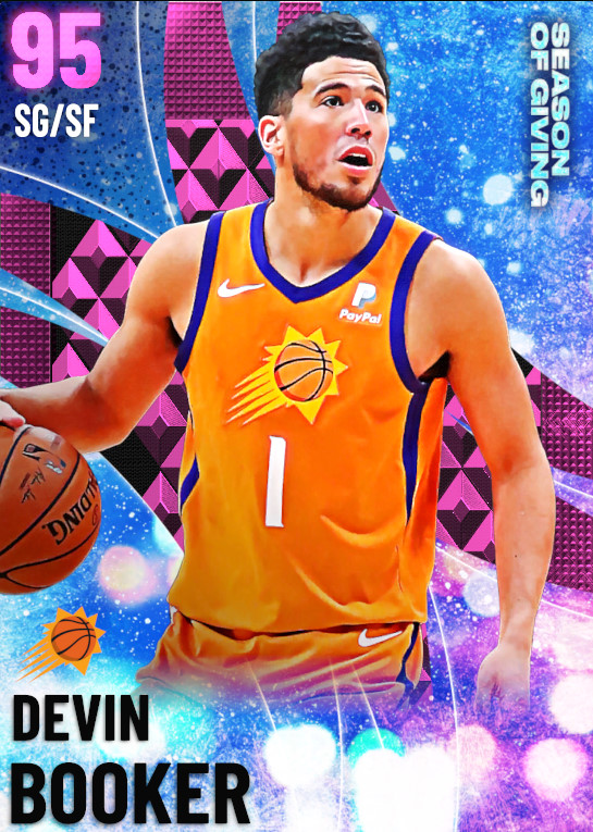 95 Devin Booker | undefined
