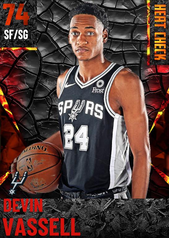 74 Devin Vassell | San Antonio Spurs