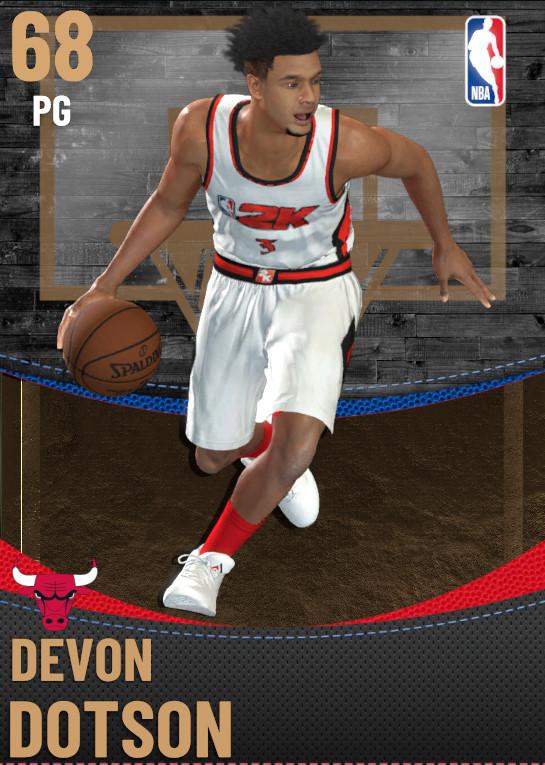68 Devon Dotson | Chicago Bulls