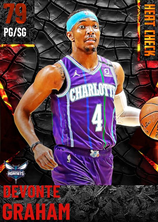 79 Devonte Graham | Charlotte Hornets